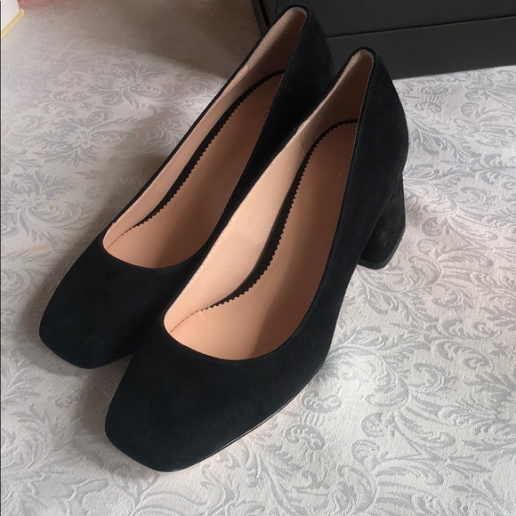 J. Crew Shoes - J Crew Suede Laney Heels 6.5 *Never Worn!*